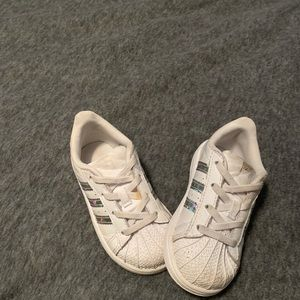 Toddler Adidas tennis shoes